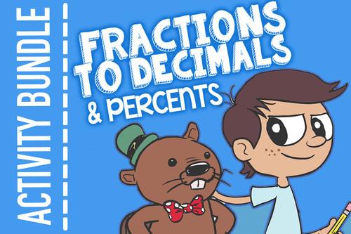Fractions, Decimals, and Percents: Converting Fractions to Decimals to Percents
