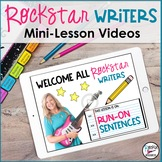 Run-On Sentences Video- Downloadable | Distance Learning
