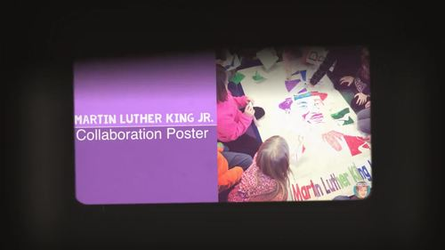 Dr. Martin Luther King Jr. Collaborative Poster |  Black History Month Activity