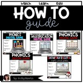 HOW to guide for my digital resources