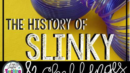 Slinky STEM Activity with History and Literature Connection