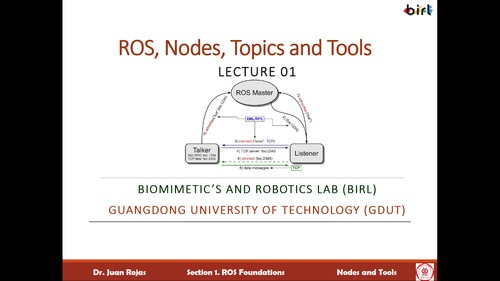 02  ROS: Nodes, Topics, and Tools (Video and Slides)