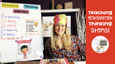 Reading is thinking: Video on how to use thinking stems
