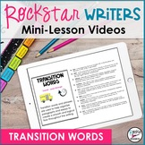 Transition Words Video- Downloadable | Distance Learning