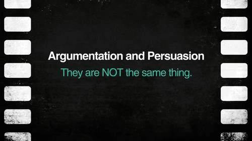 Argumentation & Persuasion: A Complete Unit {PDF and Google Slides}
