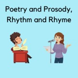 Poetry PowerPoint Video:  Prosody, Scansion, Rhythm, and Rhyme