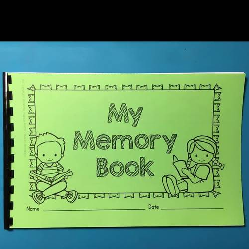 Memory Book with Certificates