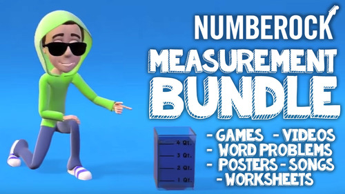 Musical Measurement Activities with Measurement Worksheets: Math Centers
