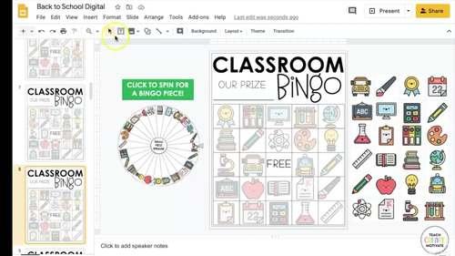 Distance Learning | Classroom Management Bingo | Plan | Game | Digital