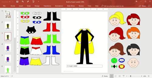 Build a Superhero Leader Girl