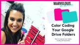 Color Coding Folders in Google Drive {Video}
