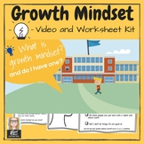 An Introduction to Growth Mindset - VIDEO & ACTIVITIES KIT