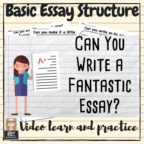 Sample Essay Proposal  Examples Of Thesis Statements For Essays also Apa Style Essay Paper English Ela Writing I Bet You Can Basic Essay Formstructure Video Kit Argumentative Essay Thesis Statement Examples
