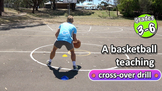 Cross-overs: Simple relay drill | Teach Basketball Skills
