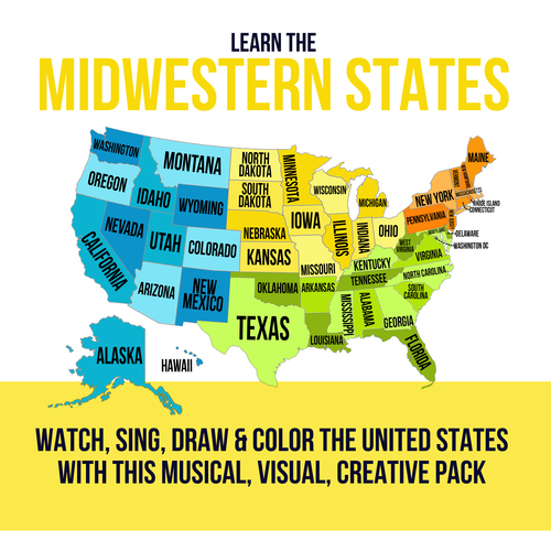 Southern States and Capitals Pack by Laurie and Amy Zundel | TpT on