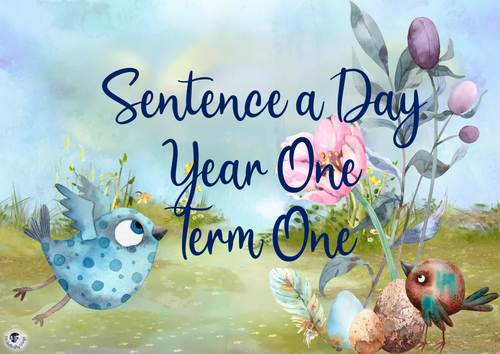 Sentence a Day Year One Term 1