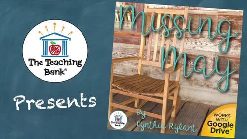 Missing May Novel Study Book Unit