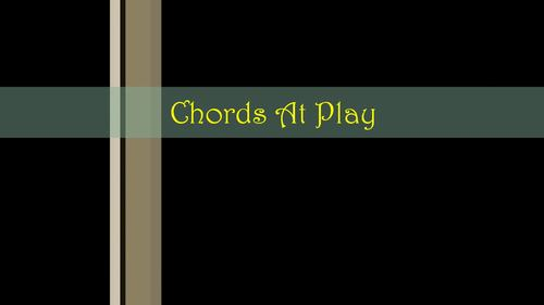 Chords At Play - An Intermediate Level Piano Study