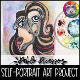 Picasso Art Project, Self-Portrait, Cubism/Surrealism
