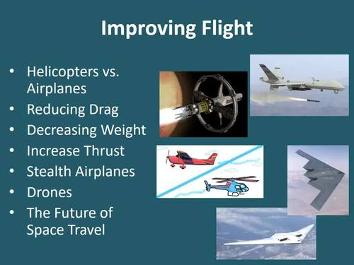 How Flight Can Be Improved - PowerPoint Lesson Package