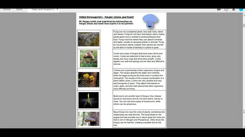 Trees and Forests: Student Handouts
