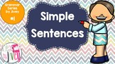 Simple Sentences - Grammar Series by Jivey #1 (Distance Learning)
