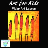 Video Art Project: Learn to Paint Maasai Warriors With Acr