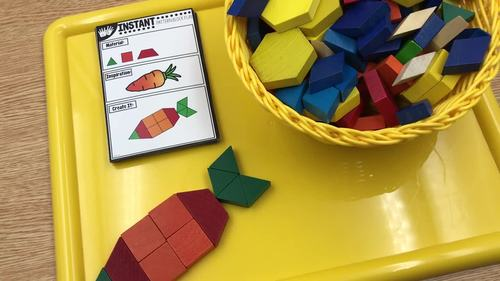 INSTANT Pattern Block Play