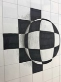 DISTANCE LEARNING! OP ART! Pattern, Illusion +Art Therapy!