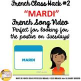 """2 French Class Transition Video """"Tuesday"""" for CI TCI TPRS"""