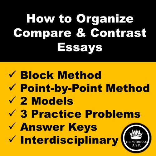 how to organize a compare and contrast essay block and point by   compare and contrast essay block and point by point methods play  button preview video video thumbnail for preview