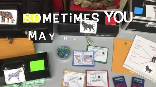 Making Goals Escape Room - Break Out Box
