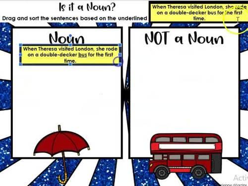 Grammar Interactive Notebook 2nd (Google Classroom & PDF) Distance Learning