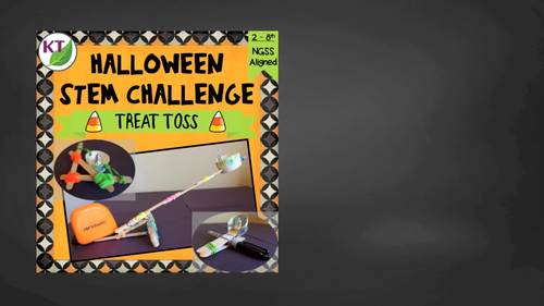 Halloween STEM Challenge: Treat Toss