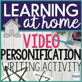 Distance Learning Creative Writing Activity Figurative Lan