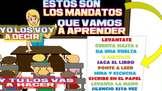 MANDATOS DE LA CLASE/ CLASS COMMANDS IN SPANISH