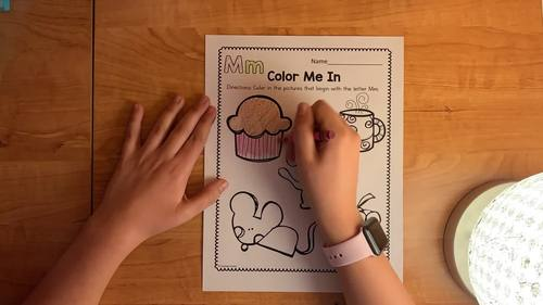 Alphabet Coloring Worksheets