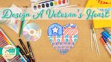 Veterans Day Activities: Heart Art Project, Roll-A-Dice Ga