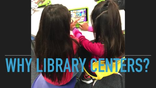 Library Centers for Library Learners printable ebook