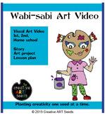 Distance Learning TpT Art Video - Wabi-sabi Art (Art of im