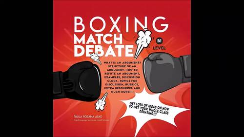 Project Based Learning for English Language Students | Boxing Match Debate