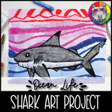 Ocean Art Lesson, Black Tipped Reef Shark inspired by Ted