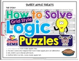 How to Solve a Grid Style Logic Puzzle