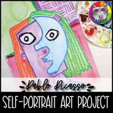 Picasso Art Project, Primary, Cubist Self-Portrait