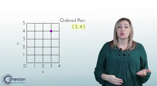 Identify & Plot Points on a Coordinate Grid