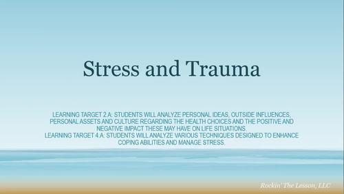Video On Impact Of Trauma On Learning >> 1 7 Stress And Trauma Presentation Video By Rockin The Lesson In