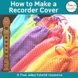How to Make a Music Recorder Cover Tutorial