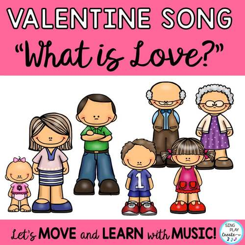 """Valentine's Day Song """"What is Love?"""" Mp3 Vocal and Acc. Tracks"""