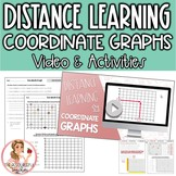 Coordinate Graph Distance Learning Video & Student Practice Pages
