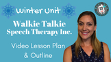 Winter Unit Walkie Talkie Speech Therapy Inc. Downloadable